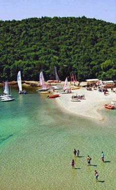 Bella Vraka beach, Sivota of Thesprotia, Epirus, Greece
