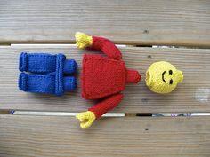 knitted lego man...cute!!
