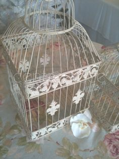 bird cage = candle cage  I've done that! Have a hanging bird cage in my kitchen that I put candles in.