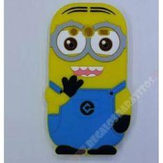 Carcasa divertida 3D diseño muñeco Minion para tu Galaxy Core 2