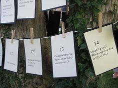 Anniversary party idea....LOVE this!!