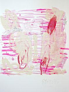 kf-brandt: KF. BRANDT naked cuddle pencil, pastel, oil stick...