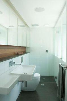 "does this look like 4'6"" x 9? Darlinghurst Apartment - contemporary - bathroom - sydney - Brooke Aitken Design"