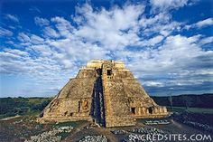 The Pyramid of the Magician, Uxmal, Yucatan, Mexico