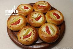 Peynirli Mini Pizza Tarifi