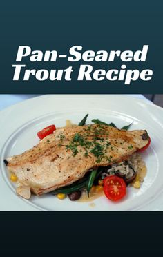 Clinton Kelly made a great and delicious Seared Trout with a Cherry Quinoa Salad recipe on The Chew. http://www.foodus.com/the-chew-seared-trout-with-a-cherry-quinoa-salad-recipe/