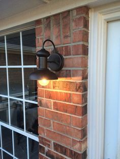 Oil Rubbed Bronze Downward Indoor Outdoor Wall Sconce Light