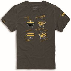 Scrambler Short Tracker Tee 98769177 $49.95 Ducati Scrambler, Performance Parts, Tees, Mens Tops, T Shirt, Stuff To Buy, Fashion, Supreme T Shirt, Moda