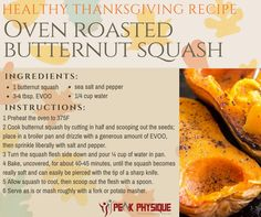 Keep Thanksgiving #Simple with this Oven Roasted Squash #Recipe #healthyholidays