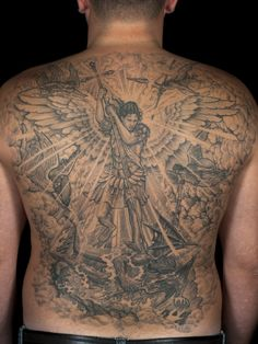 20 Protecting Saint Michael Tattoos - History & Meanings