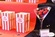 candy bar thème cinema by Candy party Paris Candy Party, Photo Booth, Cinema, Paris, Blog, Surprise Birthday, Weddings, Movie Theater, Photo Booths