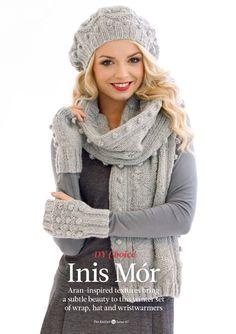 Шарф, шапка и митенки Inis Mor, The Knitter 67. Обсуждение на LiveInternet - Российский Сервис Онлайн-Дневников