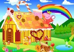 JuegosdePeppaPig.es - Juego: Casa de Galletas Peppa Pig - Jugar Online Gratis