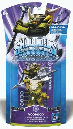 Skylanders VOODOOD Spyro's Adventure Action Figure Swap Force First NEW Voodoo #Activision #ActionFigure #Skylanders #Cyberontix