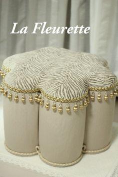 インテリアージュ *フラワースツール*の画像 | 布のインテリア*La Fleurette の Diary