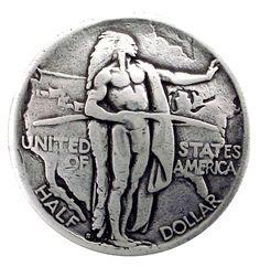 BS9183-A SRTP OREGON MEMORIAL INDIAN CONCHO COIN REPRODUCTION
