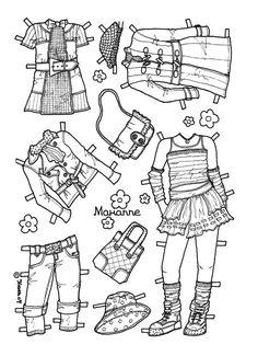 Karen`s Paper Dolls: Marianne