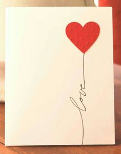 Ideas for Valentine: I'm in love with one wonderful being for 4 years now.These can be some of the ideas for your valentine. Pink Cards, Love Cards, Handmade Greetings, Greeting Cards Handmade, Hand Made Greeting Cards, Valentine Day Cards, Valentine Crafts, Homemade Valentines, Karten Diy