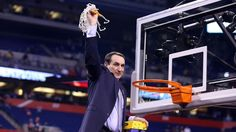 Duke Coach Mike Krzyzewski-National Championship (2015)