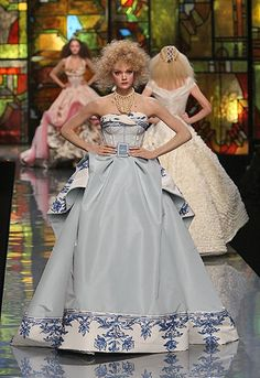 Dior Goes Flemish Old Masters for Spring Couture