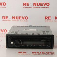 Radio SONY CDX-G1000U de segunda mano E278160   Tienda online de segunda mano en Barcelona Re-Nuevo