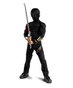 Snake Eyes Muscle Dress-Up Set - Boys by Disguise #zulily #zulilyfinds