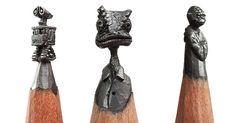 I Turn Pencils Into Miniature Pop-Culture Sculptures | Bored Panda