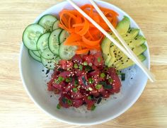 How to Make a Poke Bowl That's Even Better Than Sushi