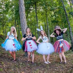 Alice in Wonderland Adult tutu 1 choose door PrincessEmmaCouture