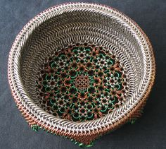 A basket out of chainmaille? You can create just about anything – if you've got patience!