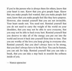 So important and how can u possibly give anything if you don't take the time to replenish your supply that's why self care is also so important Poetry Quotes, Words Quotes, Wise Words, Sayings, Pretty Words, Beautiful Words, Cool Words, True Quotes, Motivational Quotes