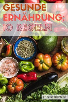 Paleo, Vegan oder doch Low Carb: damit ihr im Ernährungs-Dschungel nicht den Überblick verliert, habe ich euch hier 10 Regeln für eine gesunde und ausgewogene Ernährung zusammengestellt. Mehr zum Thema Fitness und Ernährung findet ihr auf meinem Blog.