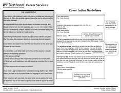 Tips For Writing Covering Letters  Job Search