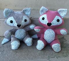 Save your baby's favourite sleepers, coming-home outfit or blanket forever by having them made into a one of a kind keepsake fox stuffy from Nestling Kids Keepsakes! www.nestlingkids.com/product/custom-keepsake-memory-fox-upcycled-from-your-own-fabric-baby-clothes-baby-blanket