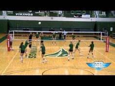 A drill that forces a team execute the serve receive and terminate six balls in a row. For more free videos about volleyball drills, skill training, practice. Volleyball Warm Ups, Volleyball Tryouts, Volleyball Skills, Volleyball Practice, Volleyball Training, Volleyball Quotes, Coaching Volleyball, Beach Volleyball, Volleyball Ideas