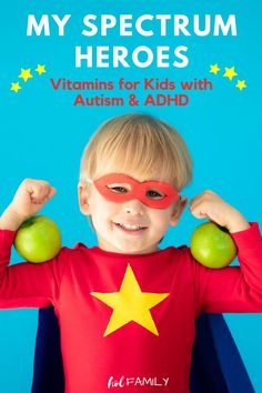 Kids with Autism and ADHD have unique nutritional needs. That's why standard supplements won't do! My Spectrum Heroes is a full line of nutritional supplements designed with kids on the spectrum in mind. Their products are free of allergens, artificial coloring, and sugar and are compatible with most special diets. For our son, they've made a world of difference. Check out this review for the full scoop and to grab a special discount code! If you're short on time, be sure to pin it for later. Autism Parenting, Gentle Parenting, Kids And Parenting, Adhd Supplements, Nutritional Supplements, Essential Oils For Autism, Adhd Diet, Angry Child, Vitamins For Kids