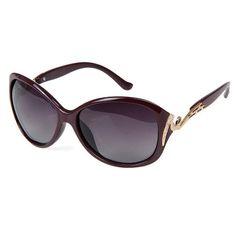 f24defecd18 Iambcoolin.com  CHB Women s Diamond Oversized Polarized Wayfarer Sunglasses  UV400 Lightweight  Sunglasses   Eyewear