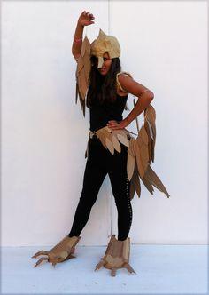 Ellen as a bird 2013