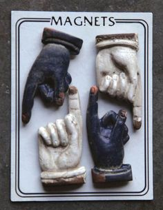 TAKE HEED POINTED FINGER MAGNETS