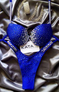 Kata Apparel Fitness Bikini Figure Physique Competition Posing Suit