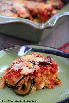 Roasted Veggie Rice Bake   by Kirsten | My Kitchen in the Rockies