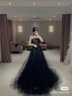 Royal Dresses, Black Prom Dresses, Ball Dresses, Ball Gowns, Evening Dresses, Beautiful Long Dresses, Fairytale Dress, Gowns Of Elegance, Quinceanera Dresses