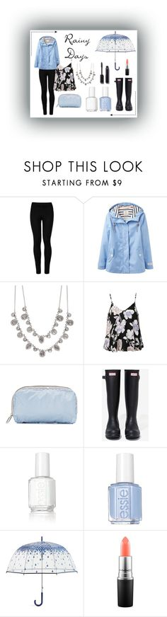 """""""Rainy days"""" by kit-cat-fashion ❤ liked on Polyvore featuring Wolford, Joules, Givenchy, Ally Fashion, LeSportsac, Hunter, Essie, Vera Bradley, MAC Cosmetics and Chanel"""