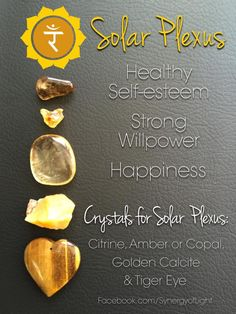 Solar Plexus Chakra Crystals - loved & pinned by www.omved.com