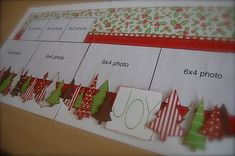 Another super simple Christmas layout!