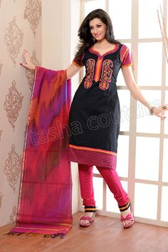 This is the image gallery of Natasha Couture Salwar Kameez Collection 2014. You are currently viewing Natasha Couture Black and Pink Printed Cotton Salwar Kameez. All other images from this gallery are given below. Give your comments in comments section about this. Also share stylehoster.com with your friends.  #natashacouture , #salwarkameez, #indiandresses