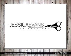 Custom Premade Hair Stylist Logo by KuvaDesign on Etsy, $45.00