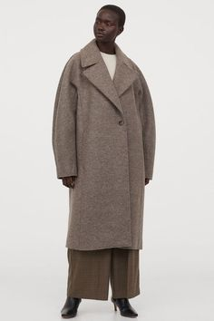 H&M Wool Coat Wardrobe Fails, Belted Coat, Knit Vest, Winter Trends, Contemporary Fashion, Fashion Company, Who What Wear, Neue Trends, Kappa