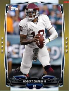 TOPPS-HUDDLE-GOLD-AS-ACTION-BOOST-ROBERT-GRIFFIN-III-RGIII-ONLY-132-EXIST