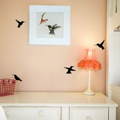 Hummingbird Decals now featured on Fab.